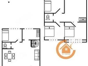 奥林花园别墅老证,急卖,一楼带院,上下3层急卖,能按揭,诚心
