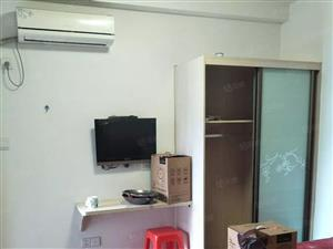 铂金瀚小区隔套带小阳台1室1卫1阳单身公寓出租可押一付一