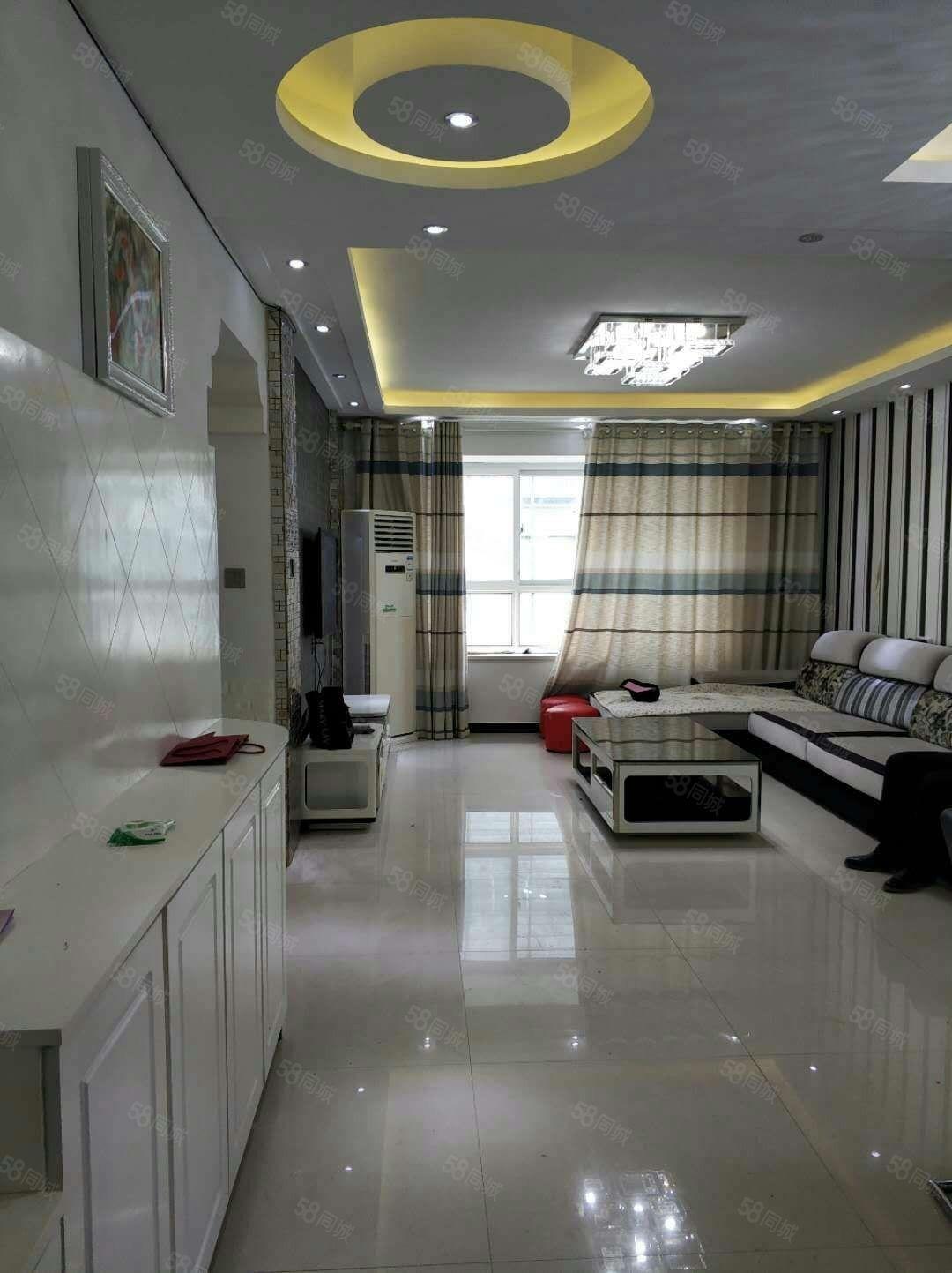 永尚国际精装三室两厅家具家电齐全