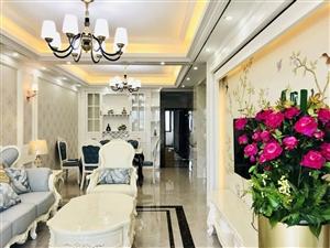 龙岩万达给您一个温馨的家欧式装修电梯高层南北通透三房拎包入住