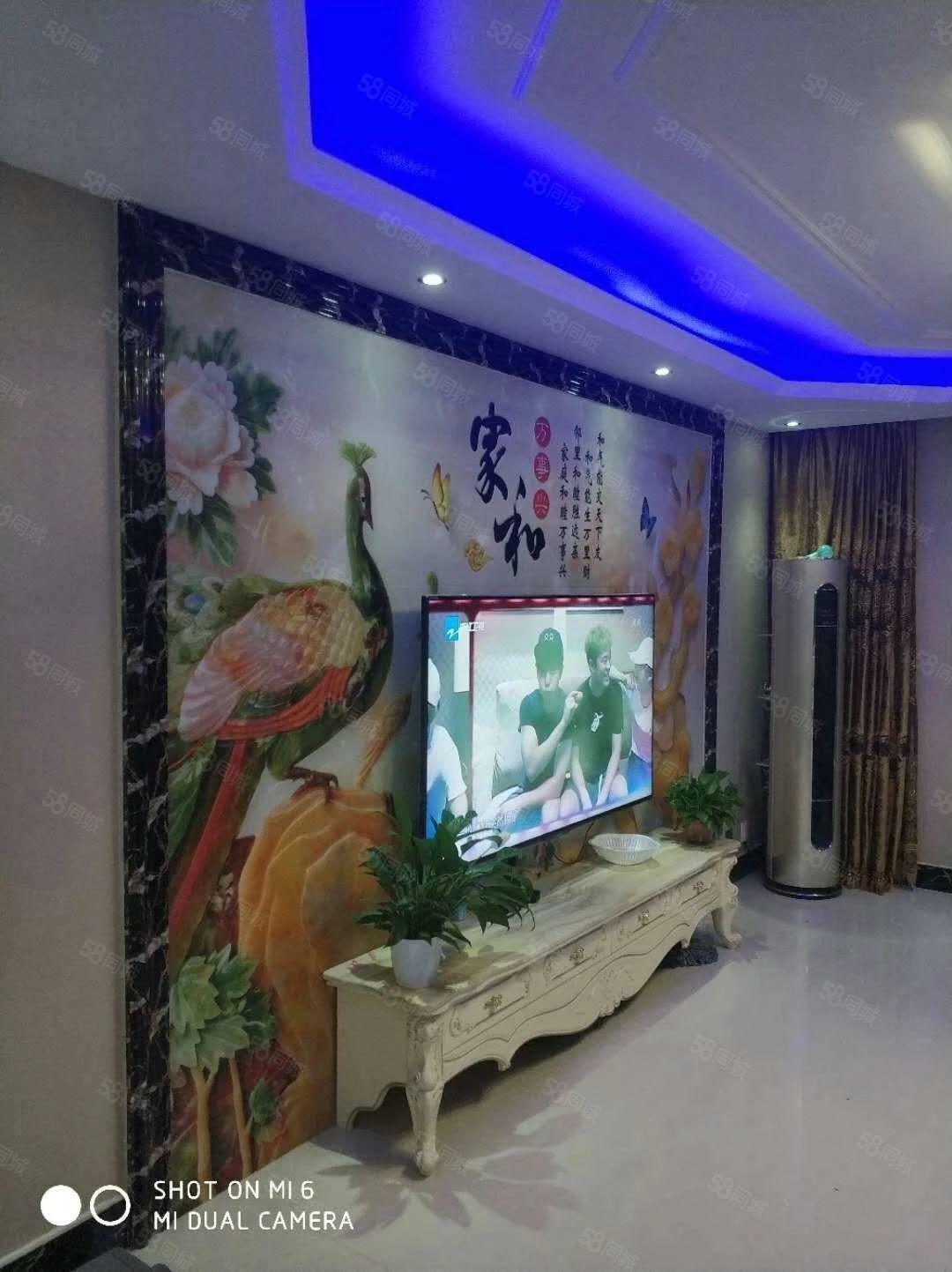 白鹭苑三室两厅精装家电家具齐全环境优美拎包入住