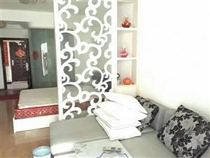金域蓝湾A区一厅一厨一卫一阳台,装修清楚,设备齐全拎包入住。