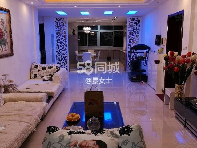 书香家园B区2室2厅1卫精装修,家具家电齐全房子特好