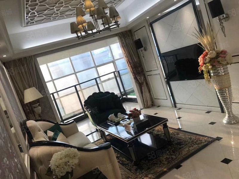 自家亲戚出租全新创鸿国际豪华欧式2房2厅采光好有钥匙