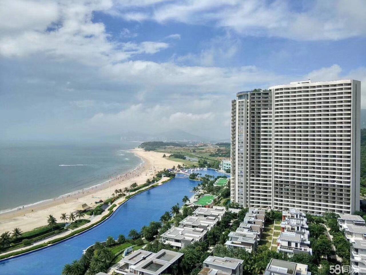 广东省绝版一线海景房不限购首付18万投资自住可投管