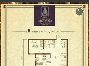 中悦君庭2室2厅1卫