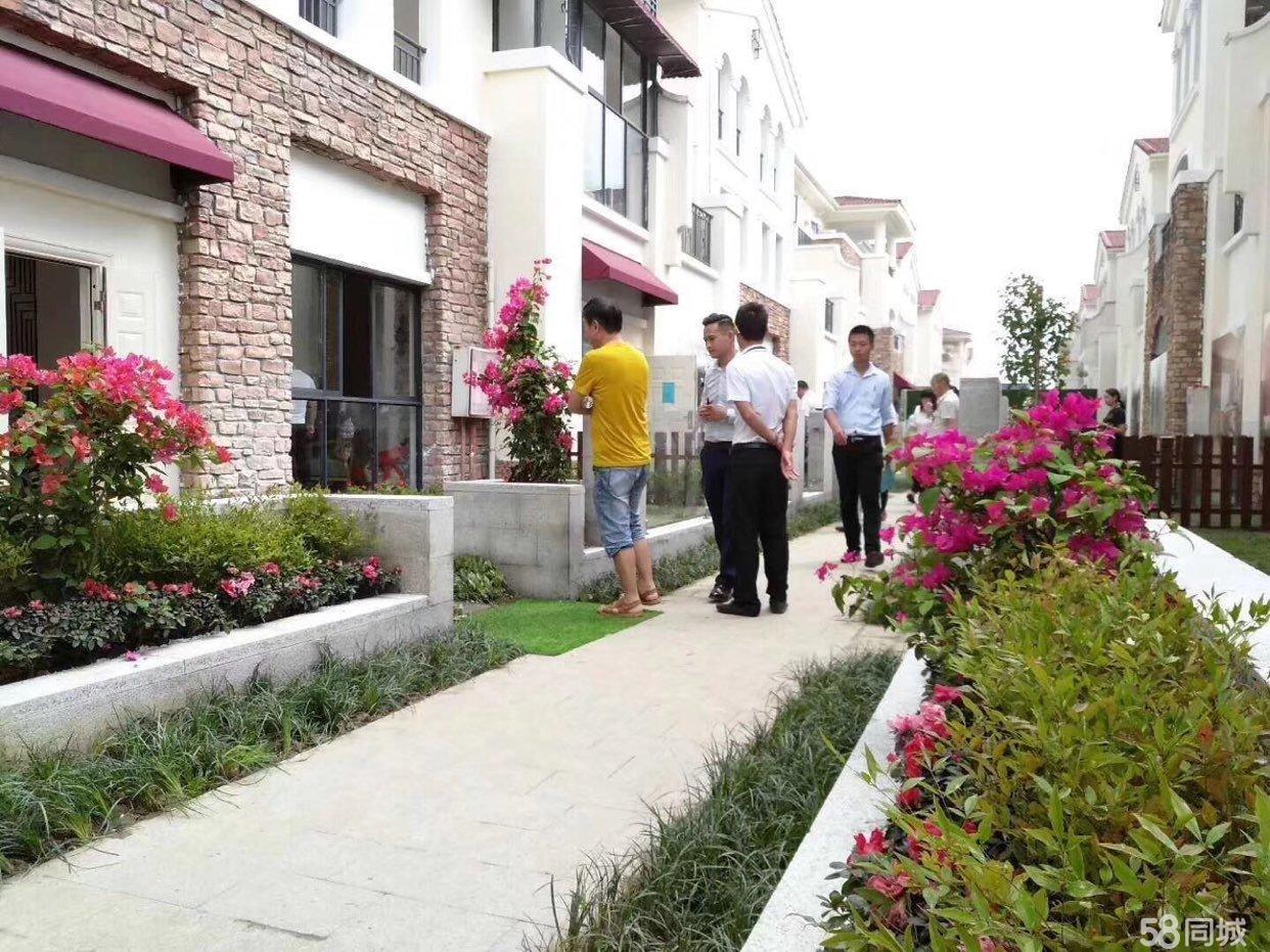 首付35万买第二批次花园联排别墅单价8500,欲购从速!