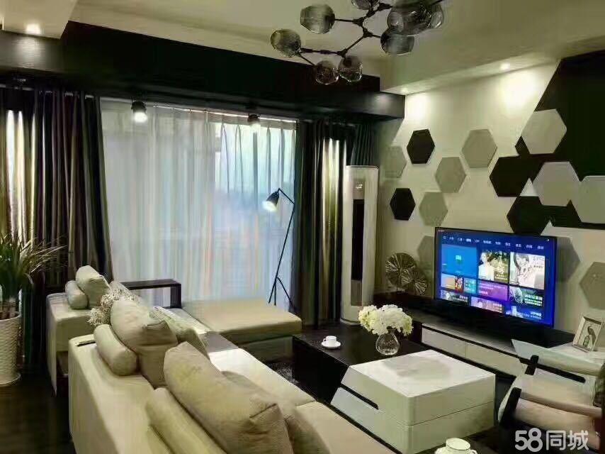 河东保利江语晨江景房3室2厅2卫102�O全品牌家具家电