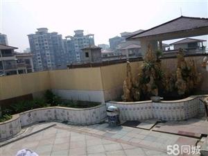 维多利亚3期楼顶花园标准4房+1书房豪装40万