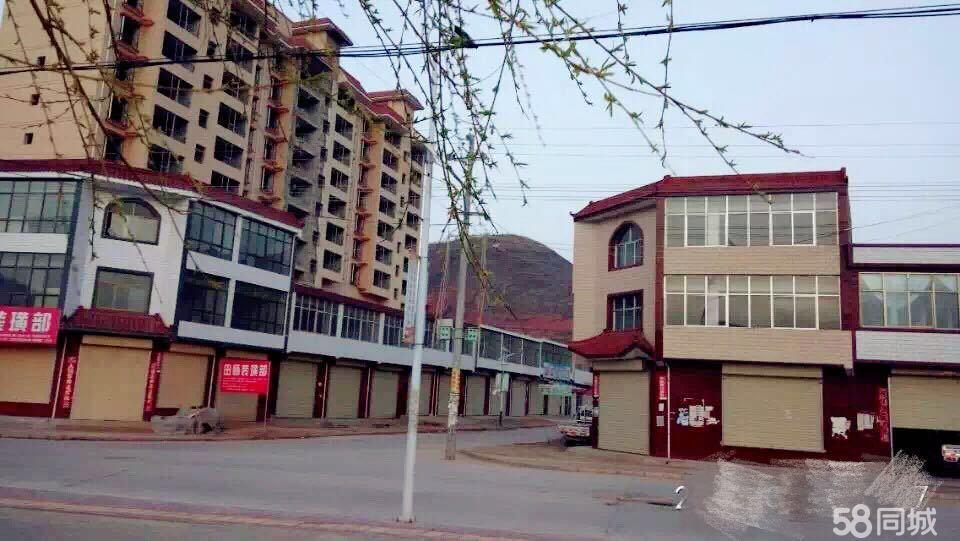 武山县马力镇菜市场双门面两层楼现低价出售4室3厅1卫120平米