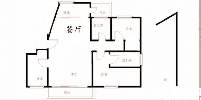 降價40萬 06年翔鷺花城  電梯高層 朝南 精裝大三房 真