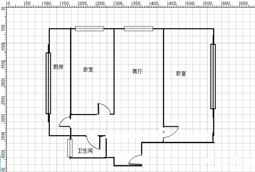 金港城 3楼 精装修 南北通透  看房随时