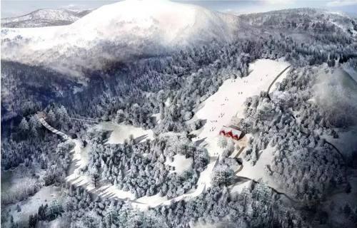 官宣!南郑龙头山滑雪场今冬开放!