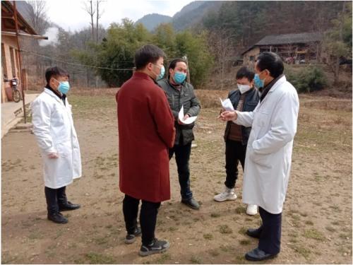 驰骋在宁强乡村的战疫守护者,跟踪监测每一名武汉返乡人员