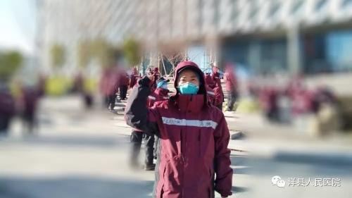 洋县人民医院驰援武汉的护士冯璐:领队,我要第一批进舱!