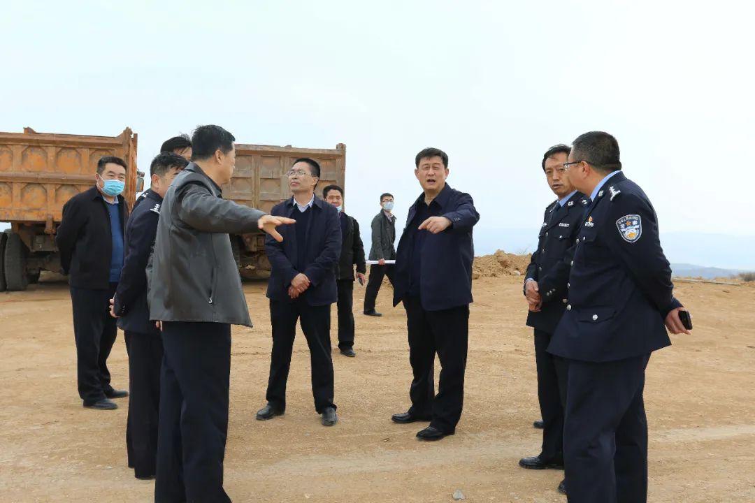 邢占强、郝桄东检查指导新建看守所、拘留所项目建设