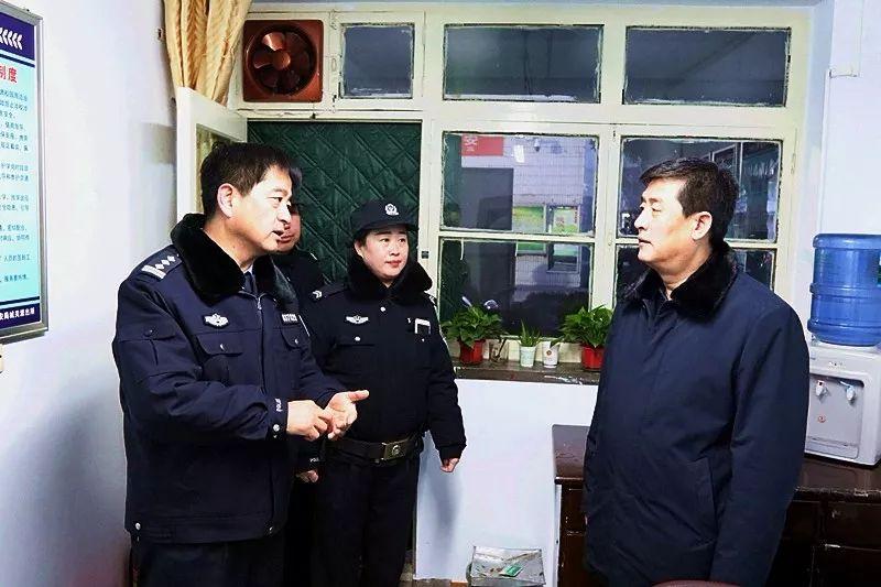 邢占��局�L�π�@安全工作�M行督��z查