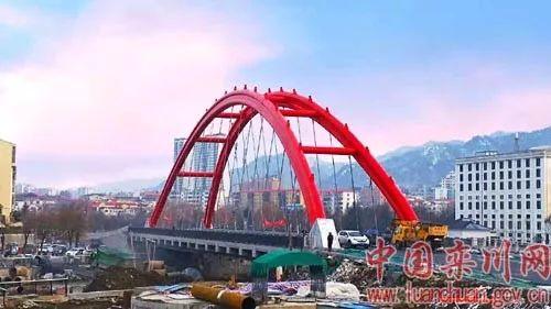 澳门网上投注娱乐又一地标建筑—水系北沟河桥建成通车