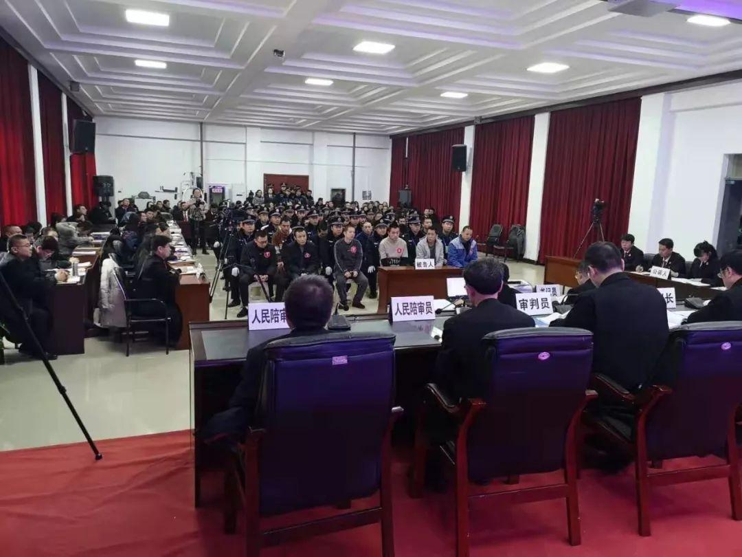 绥德延明等29名被告人涉恶案一审宣判