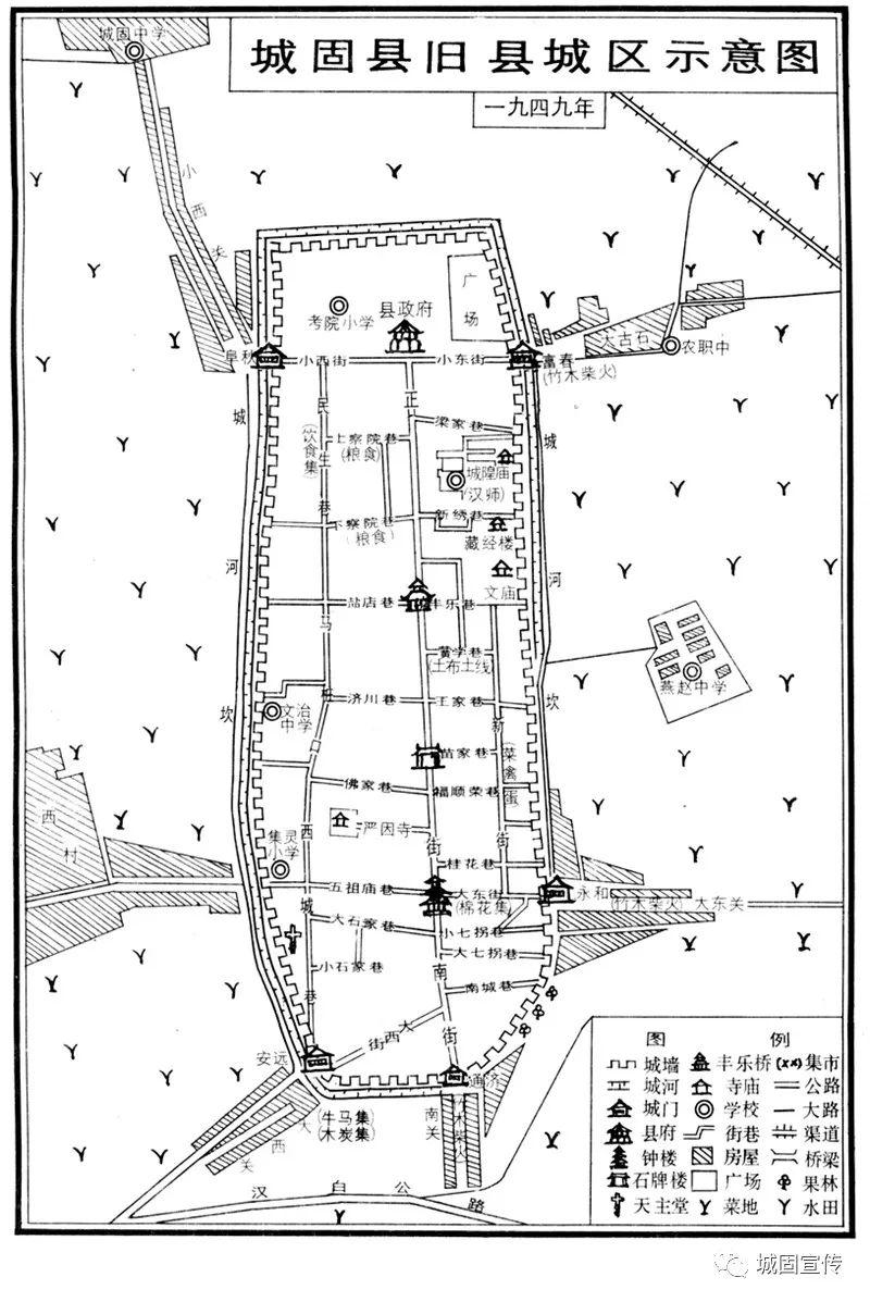 70年,组图带你见证城固城市巨变!