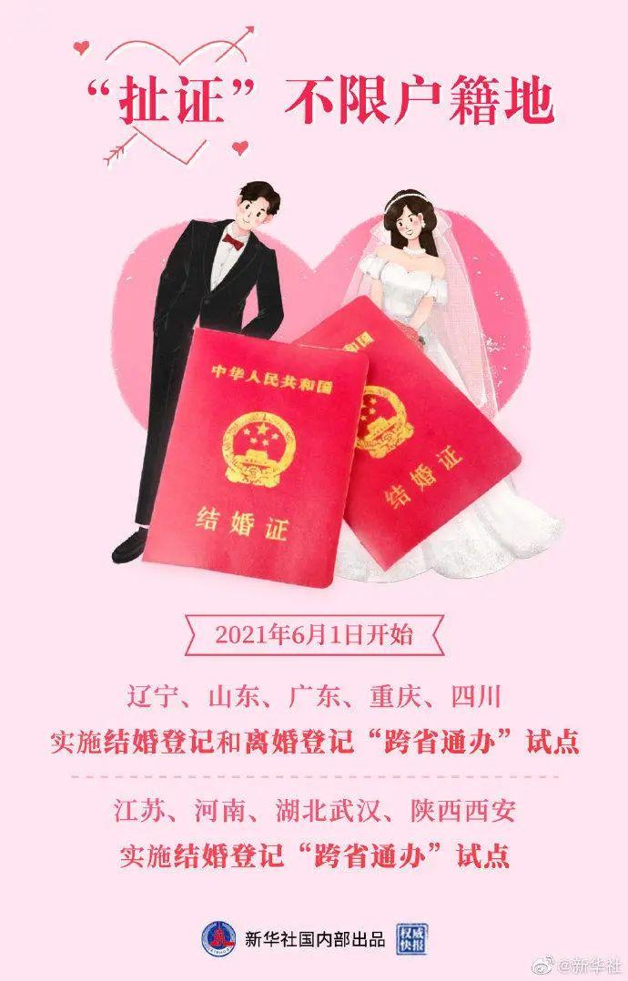 仁寿人注意:6月1日起,一个关于结婚大变化!