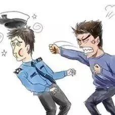 瑞金一男子殴打民警!