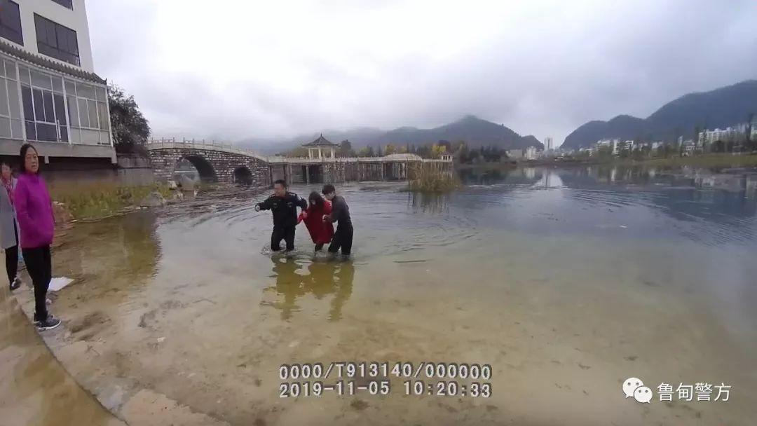 婆婆和老公�ψ约翰缓茫��甸90后女子投湖�p生。。。