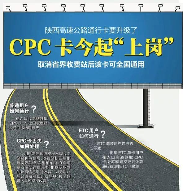 今日起,陕西高速公路通行卡要升级换代了!