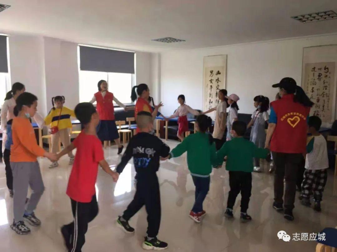 【刘杨社区儿童服务站】童心向党
