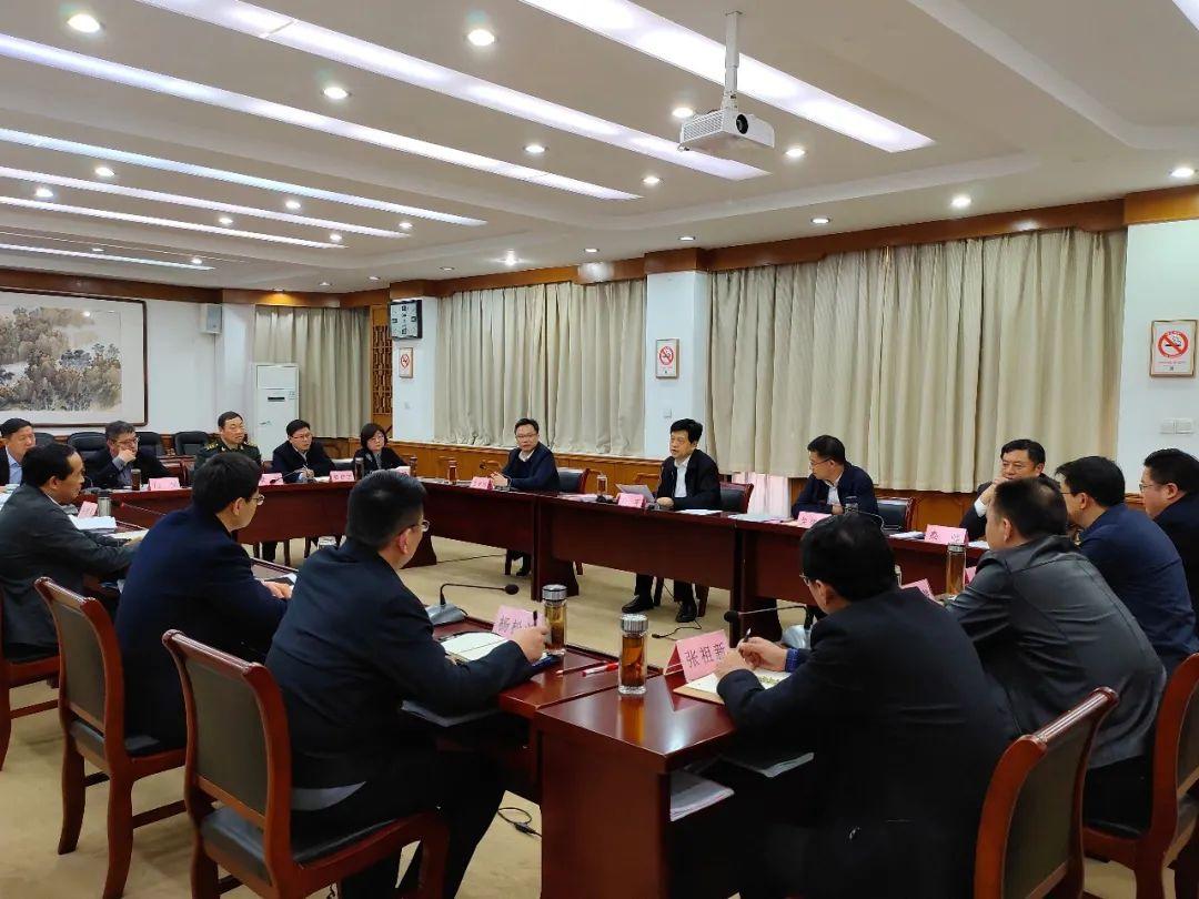 杨军参加指导��桥区委常委会2020年度民主生活会暨中央巡视整改专题民主生活会