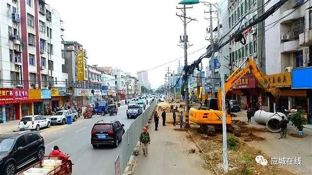 ��城解放街道路改造工程�M在下月完工~