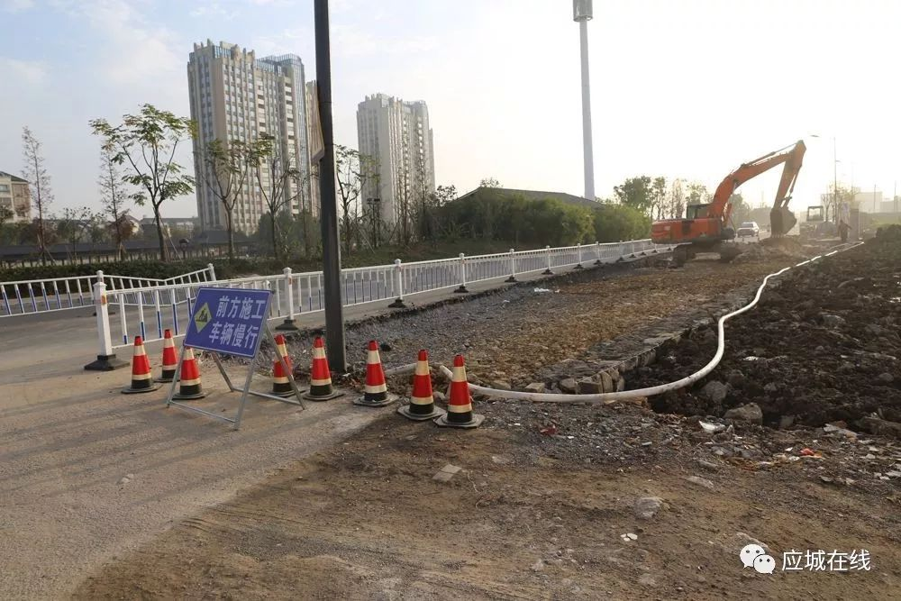 �L�G大道��城�|段道路拓��工程加�盘崴� 有望2020年春�前通�