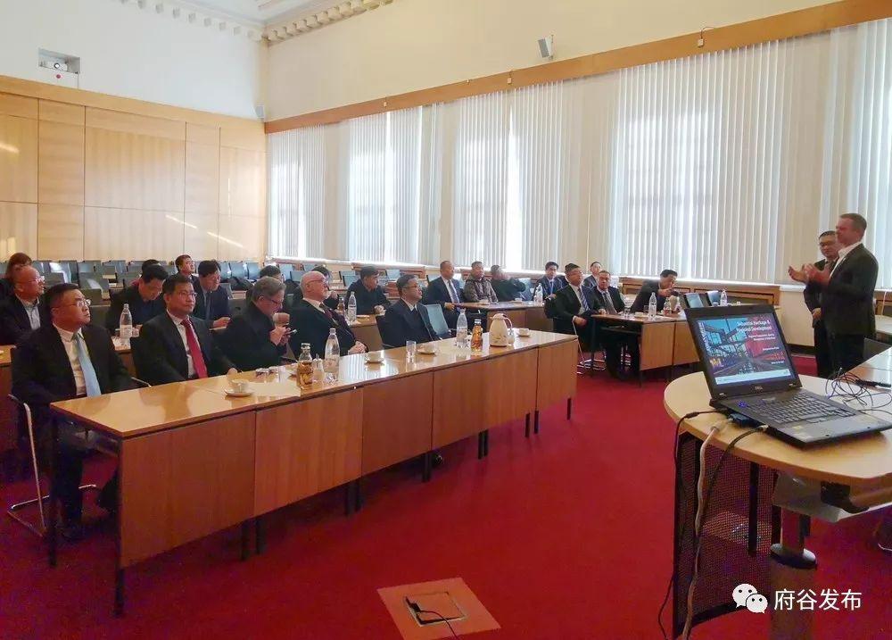 府谷县与德国维藤市达成建立友好城市合作意向