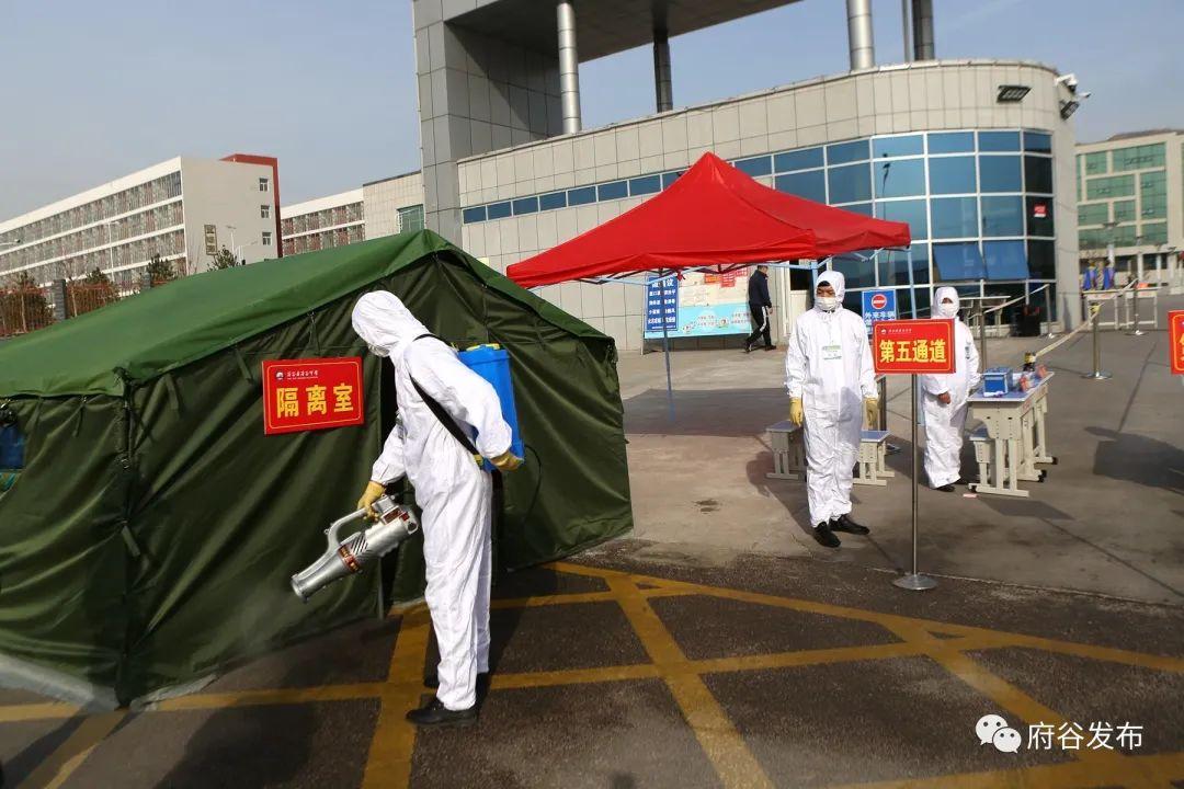 府谷中学举行新冠肺炎疫情防控应急演练