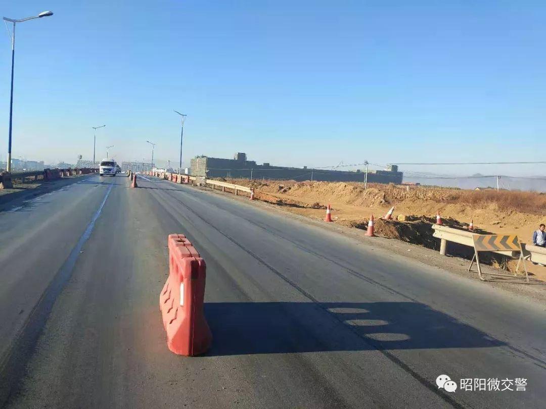 昭��^西�h�~昭麻二�公路(珠泉路)至���W路道路�M行提升改造,�注意�@行!