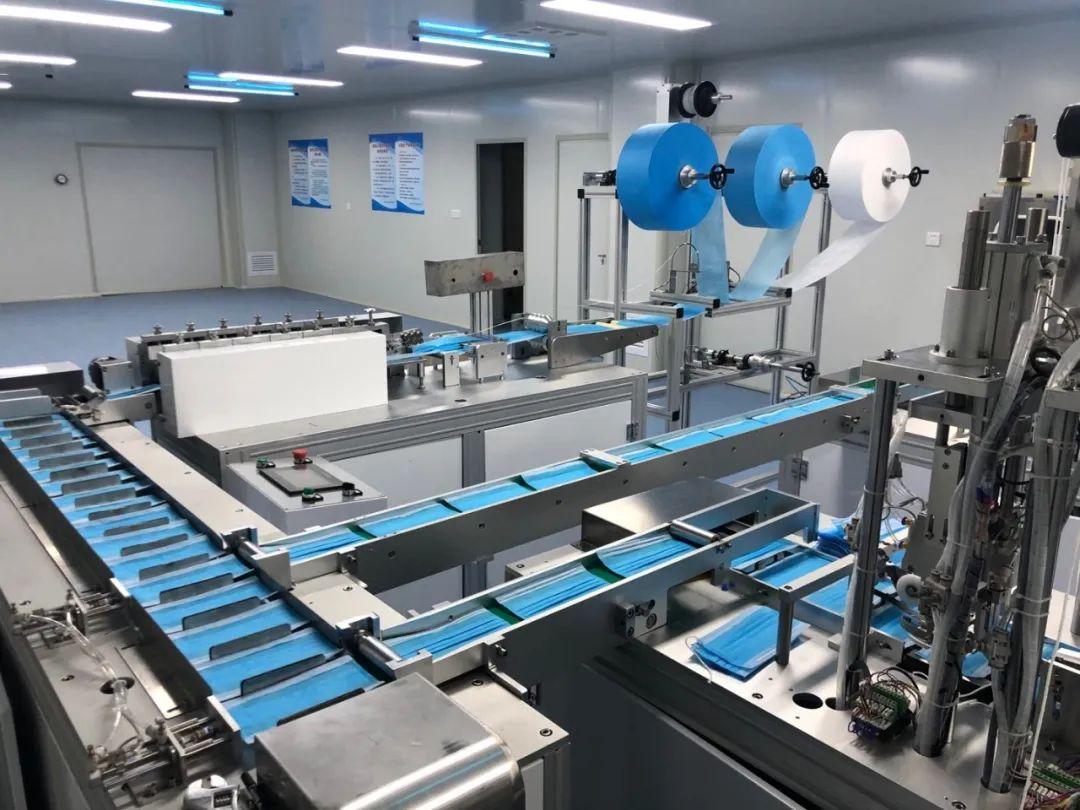 榆林六家医用口罩企业进入试生产,日产量达60余万只