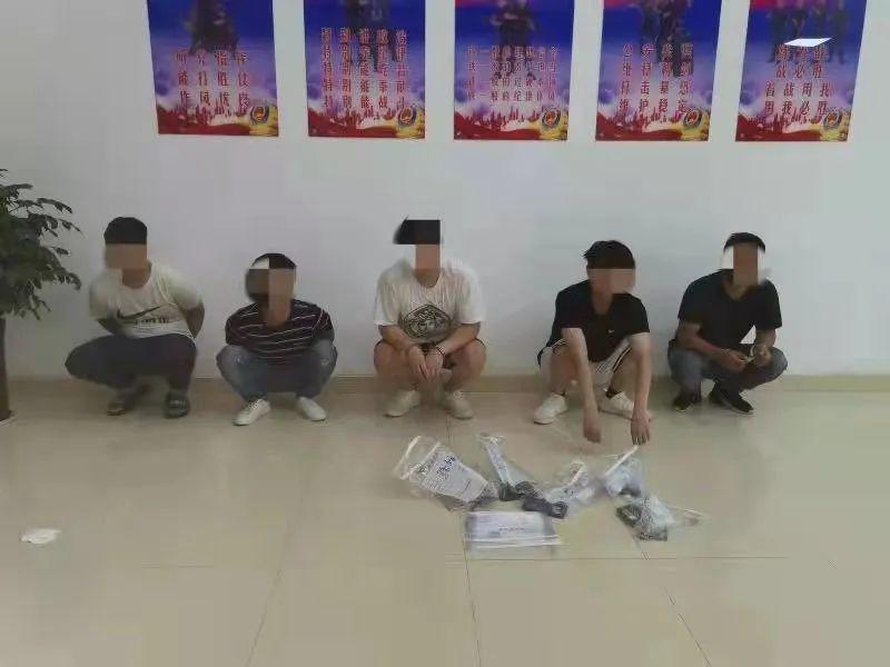 新郑、龙湖域内5个诈骗窝点接连被警方端掉,抓获犯罪嫌疑人11名!