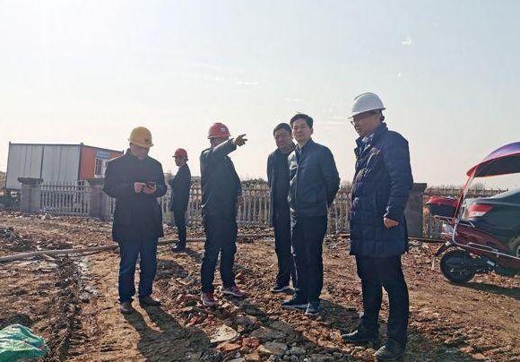 罗文督查乡镇污水处理厂建设工作