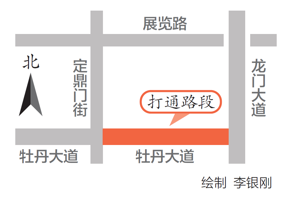 """牡丹大道可直通���T大道!7�l""""�囝^路""""同步通�放行"""