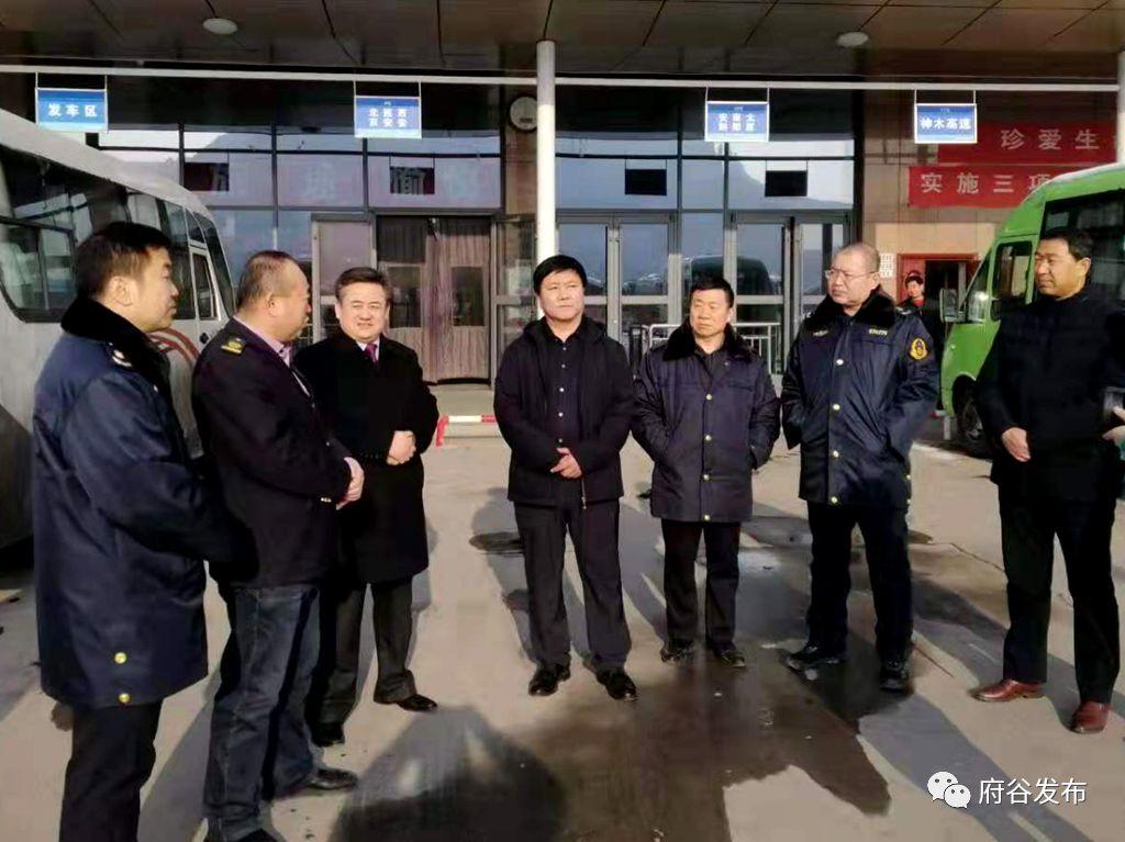 刘涛检查春运安全工作