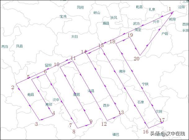 云中取水,汉中市春旱和高森林火险初步缓解