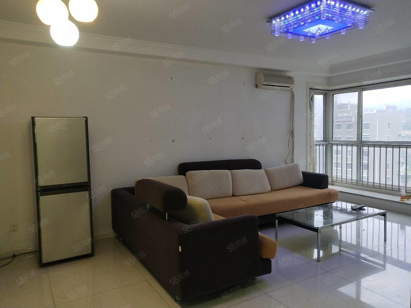 石坝河翡翠城平层2室精装修可按揭带地下室