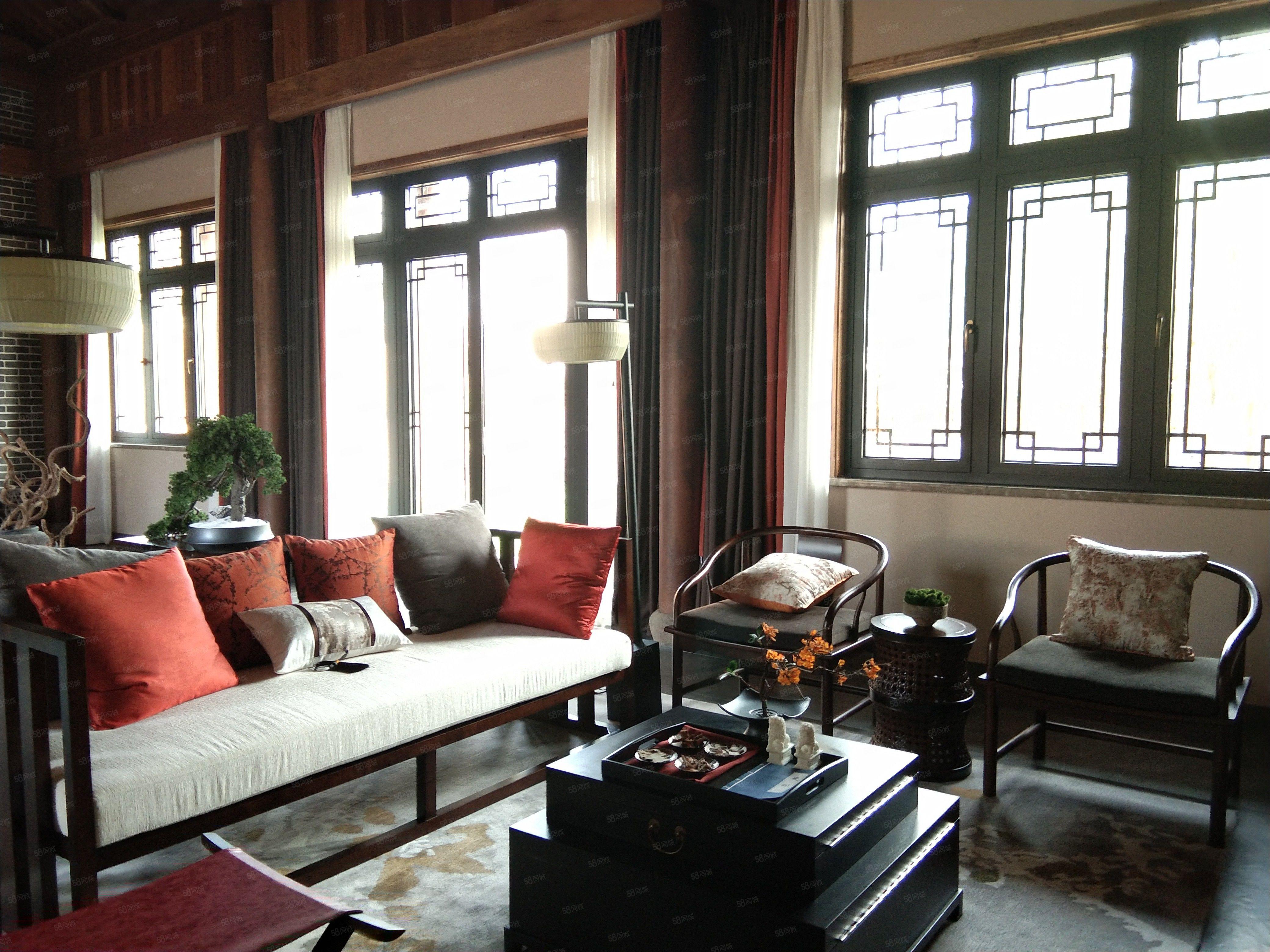 开发商急售!西塞山旅游度假区中式合院别墅,送私家庭院800平
