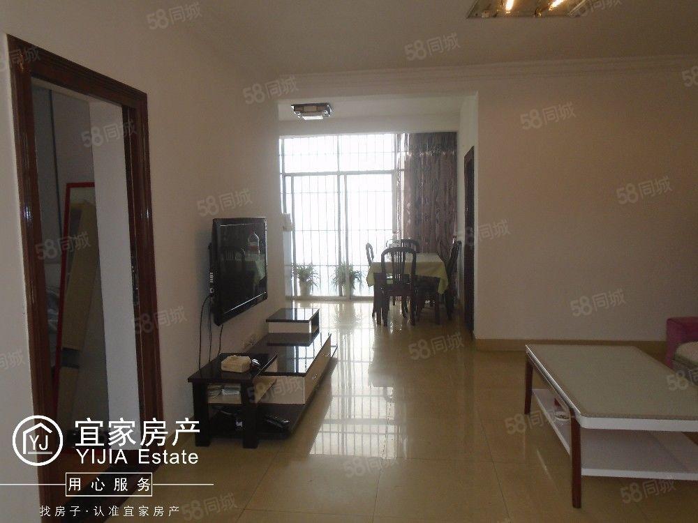 花园路,小区房,3楼,103平米3居室,带全套家电,带车位