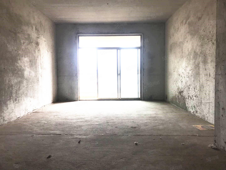城東毛坯大三室南北通透帶地暖隨時可看房可按揭