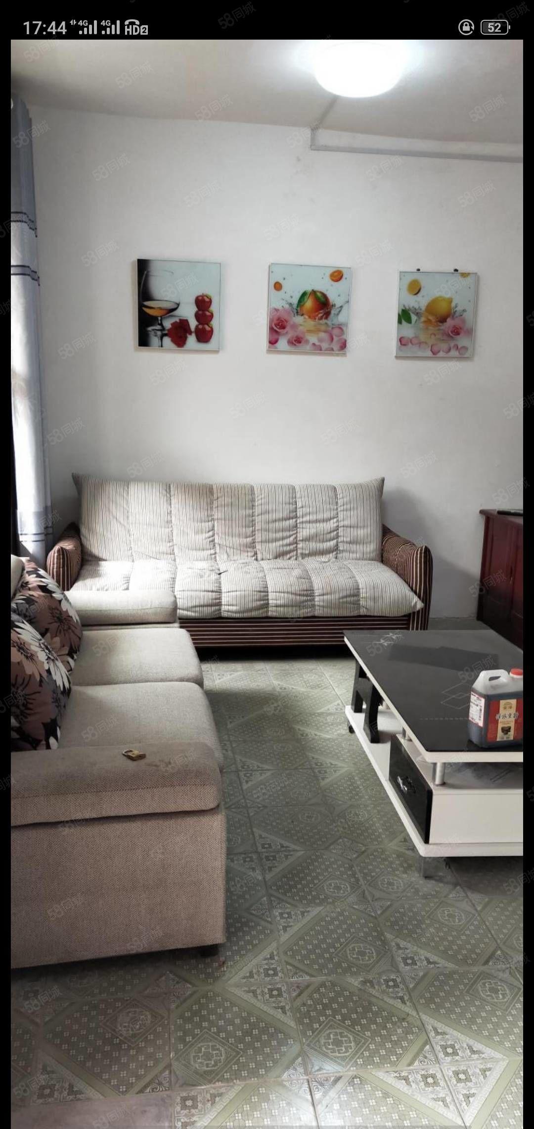 时代广场的独院2室一厅精装修出租