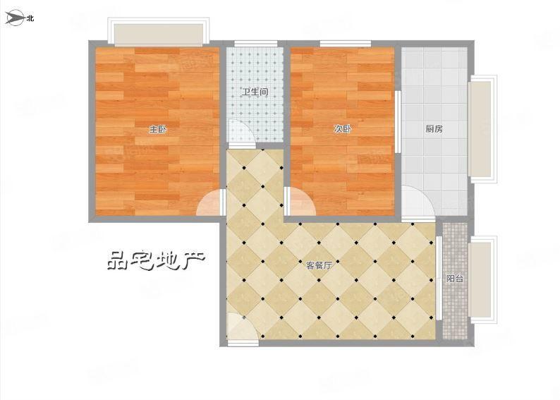 新城区瑞祥小区2房出租,租金583元,带部分家具