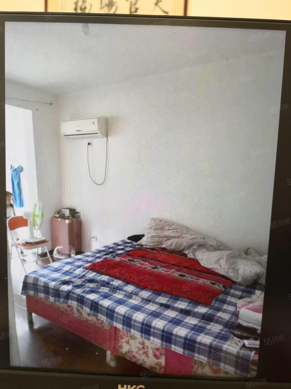 華鑫現代城,簡裝修兩室兩廳一衛,帶儲藏室12平免高稅
