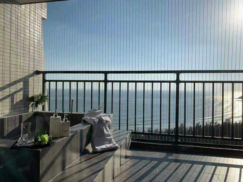 一线海景公寓,首付8万起!租金抵月供
