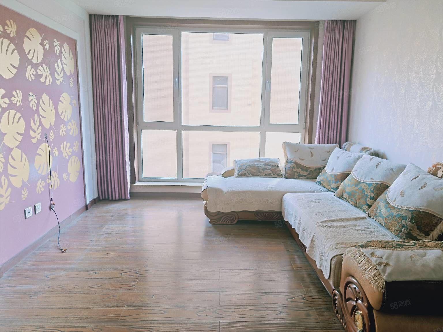 想买3室2厅1卫精装好房的快看这套房南北通透拎包住